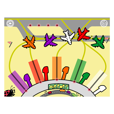 Appen Färger och fordon, flygplats