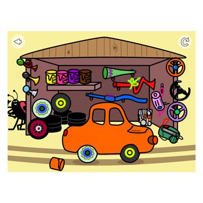 Appen Färger och fordon, verkstad