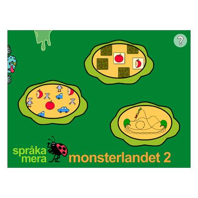 Appen Monsterlandet 2, startsida