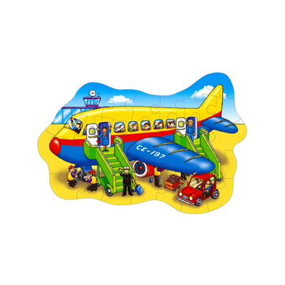 Pussel: Flygplan