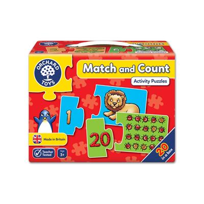 Spel: Matcha och räkna
