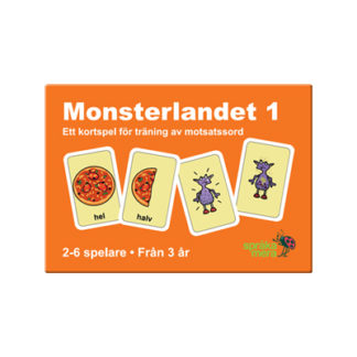 Kortspel: Monsterlandet 1, ask
