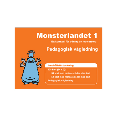 Kortspel: Monsterlandet 1, vägledning