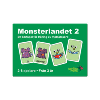 Kortspel: Monsterlandet 2, ask