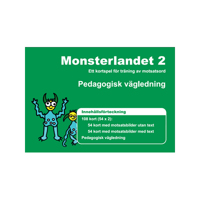 Kortspel: Monsterlandet 2, vägledning