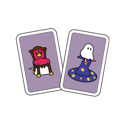Kortspel: Spökbus, två kort