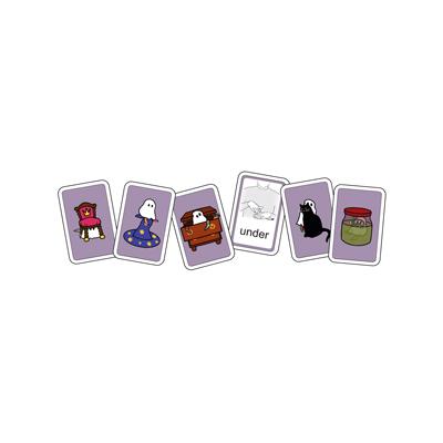 Kortspel: Spökbus, sex kort