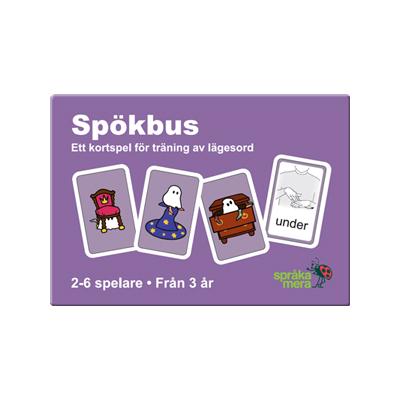 Kortspel: Spökbus, ask