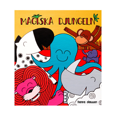 Bok: Magiska djungeln