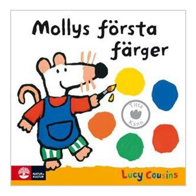Bok: Mollys första färger