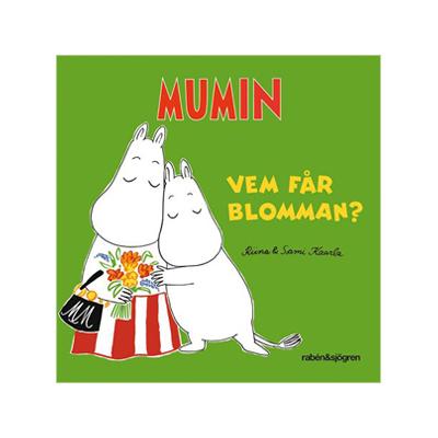 Bok: Mumin - Vem får blomman?