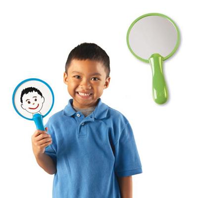 Leksak: Spegel och penna