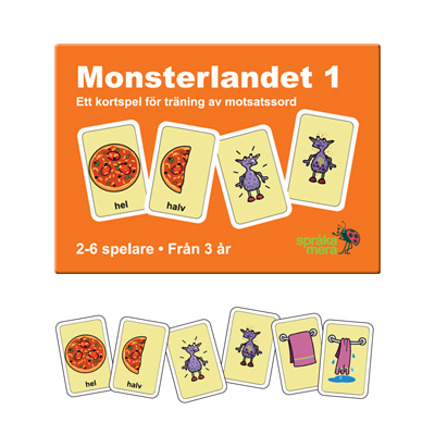 Kortspel: Monsterlandet 1
