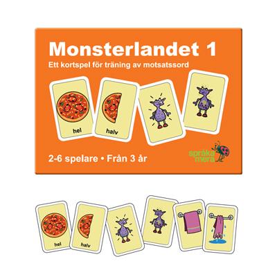 Kortspel: Monsterlandet 1