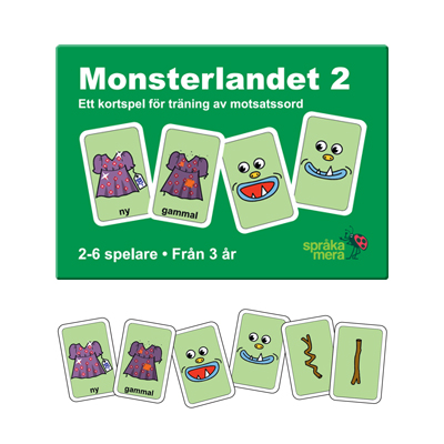 Kortspel: Monsterlandet 2