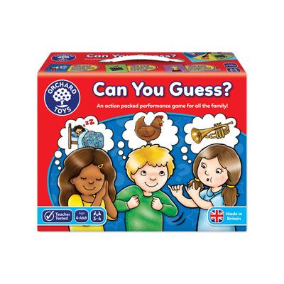 Spel: Kan du gissa?