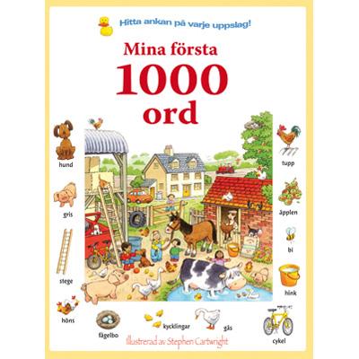 Bok: Mina första 1000 ord