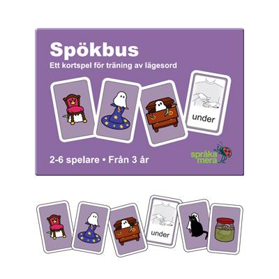 Kortspel: Spökbus